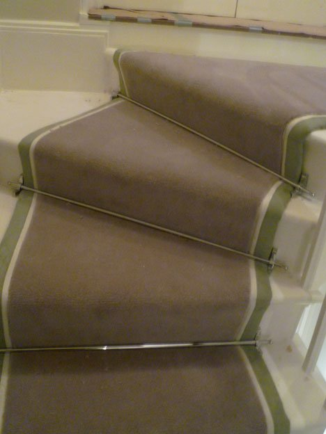 Belgravia Solid Chrome Stair finish