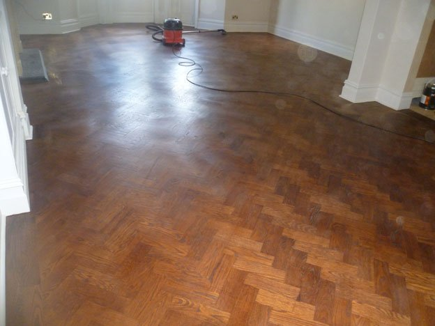 Morrells Stained Wood Floor