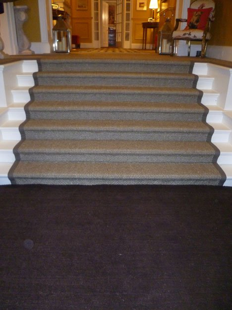 Sisal Crucial Trading Taped Stairs Harrow On The Hill