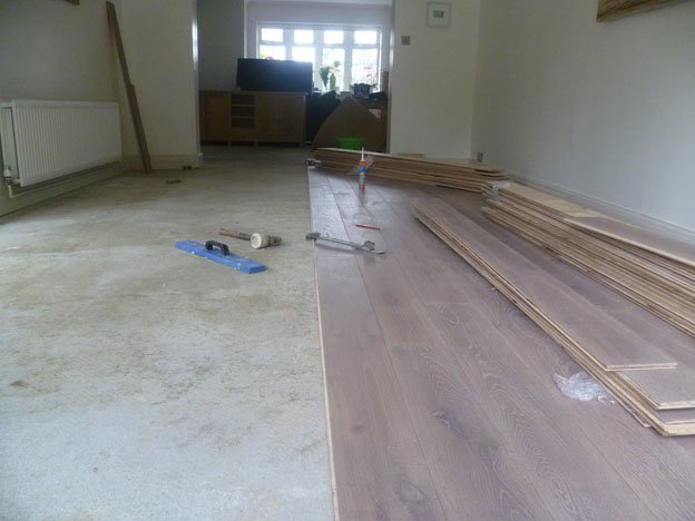 Osmo satin oil coated pinner engineered wood