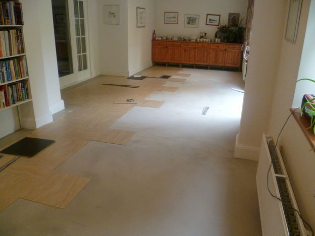 "18 "" Amtico Spacia sandstone primer prepared tiles"