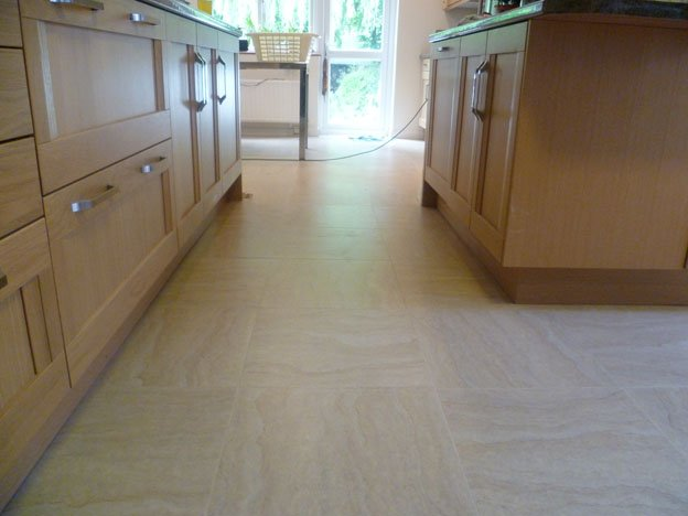 Pinner Spacia tiled flooring