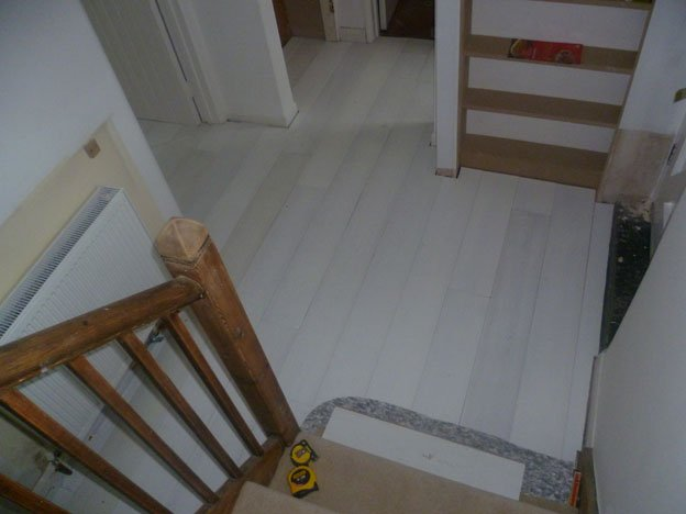 While Oiled Solid Wood Flooring